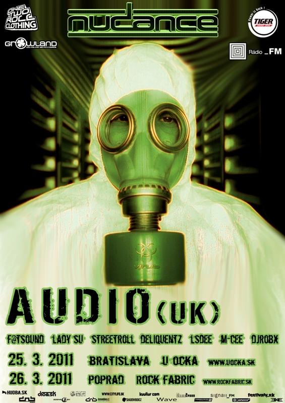Audio (UK) live Nudance party